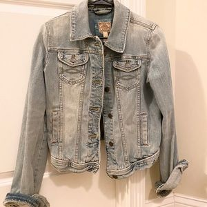 Abercrombie and Fitch Denim Jean jacket